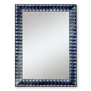 Alpine Black Rivauge Wall Mirror