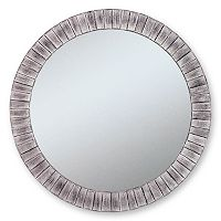 Alpine Lyone Beveled Wall Mirror