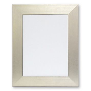 Alpine Silvertone Wall Mirror
