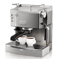 DeLonghi Stainless Steel Pump Espresso Maker