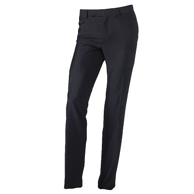Rock and Republic Slim-Fit Flat-Front Dress Pants