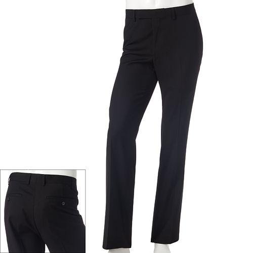 Rock And Republic Slim-Fit Solid Mini-Corduroy Flat-Front Dress Pants $ 34.99