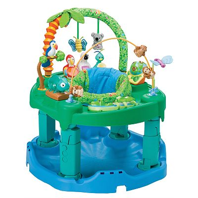 Evenflo ExerSaucer Triple Fun Jungle Developmental Toy