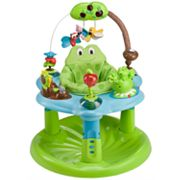 Evenflo ExerSaucer Backyard Discovery Jump and Learn Frog Developmental Toy