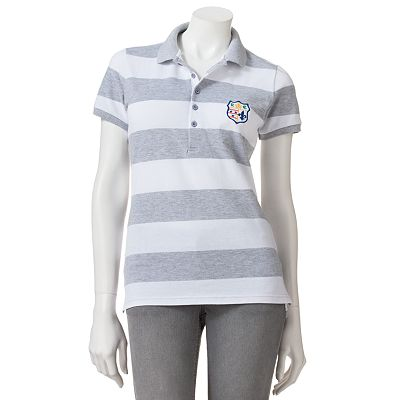 Derek Heart Striped Polo - Juniors