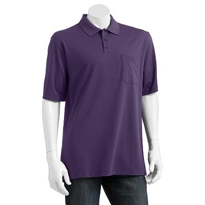 Van Heusen Thin-Striped Polo - Big and Tall