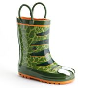 Western Chief Dinosaur Rain Boots - Toddler Boys