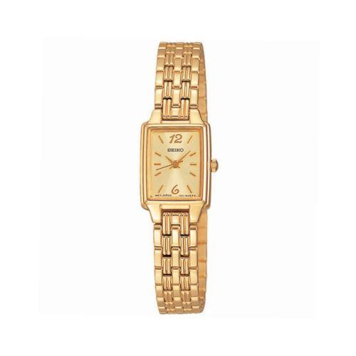 Seiko Gold Tone Stainless Steel Watch - SXGL62 - Women