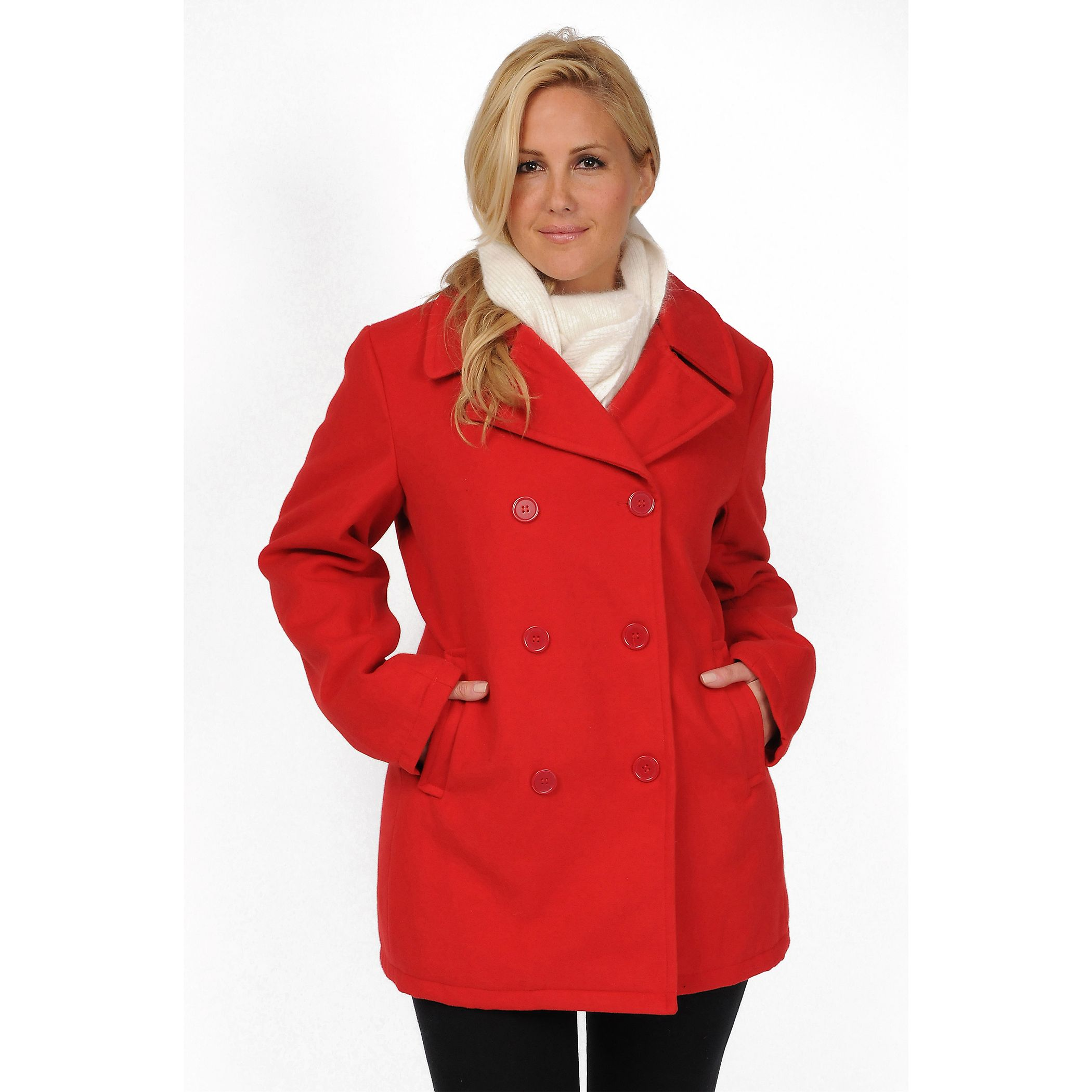 R & O Solid Peacoat - Women's Plus