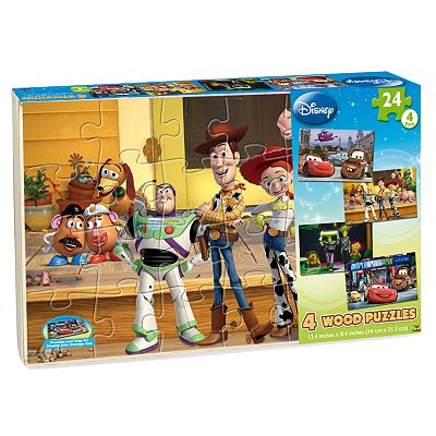 Disney/Pixar 4-pk. Wood Puzzles by Cardinal