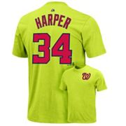 Majestic Washington Nationals Bryce Harper Tee - Boys 8-20