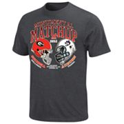 Georgia Bulldogs vs. Auburn Tigers The Duel Tee