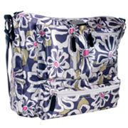Amy Michelle Iris Go Bebe Floral Diaper Bag