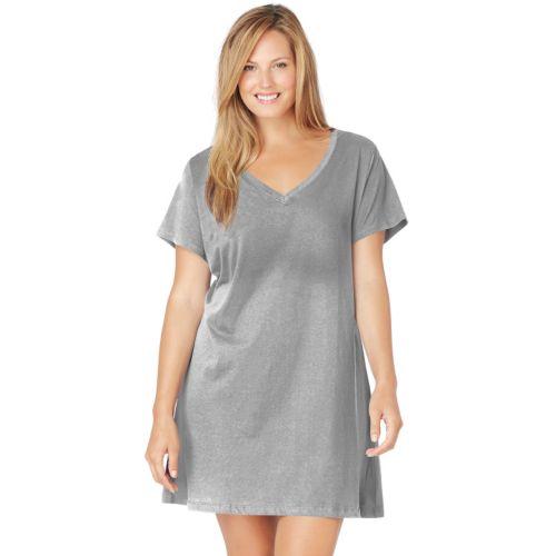 Jockey Pajamas: Solid Sleep Shirt - Women's Plus