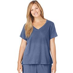 Plus Size Jockey Pajamas: Solid Pajama Tee