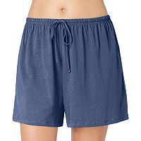 Plus Size Jockey Pajamas: Solid Pajama Shorts