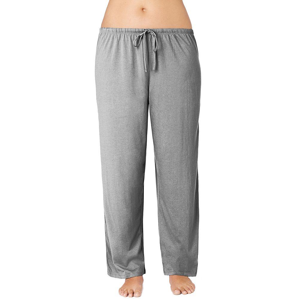 Plus Size Jockey Pajamas Solid Pajama Pants