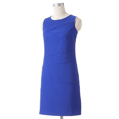AB Studio Pieced Sheath Dress