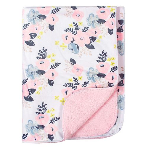 Just Born Pink Fleece Blanket
