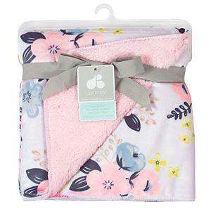Just Born Pink Fleece Blanket