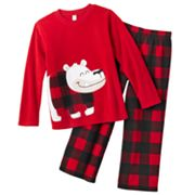 Jumping Beans Holiday Bear Pajama Set - Boys 4-10