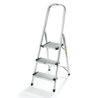 Polder 3-Step Lightweight Aluminum Ladder