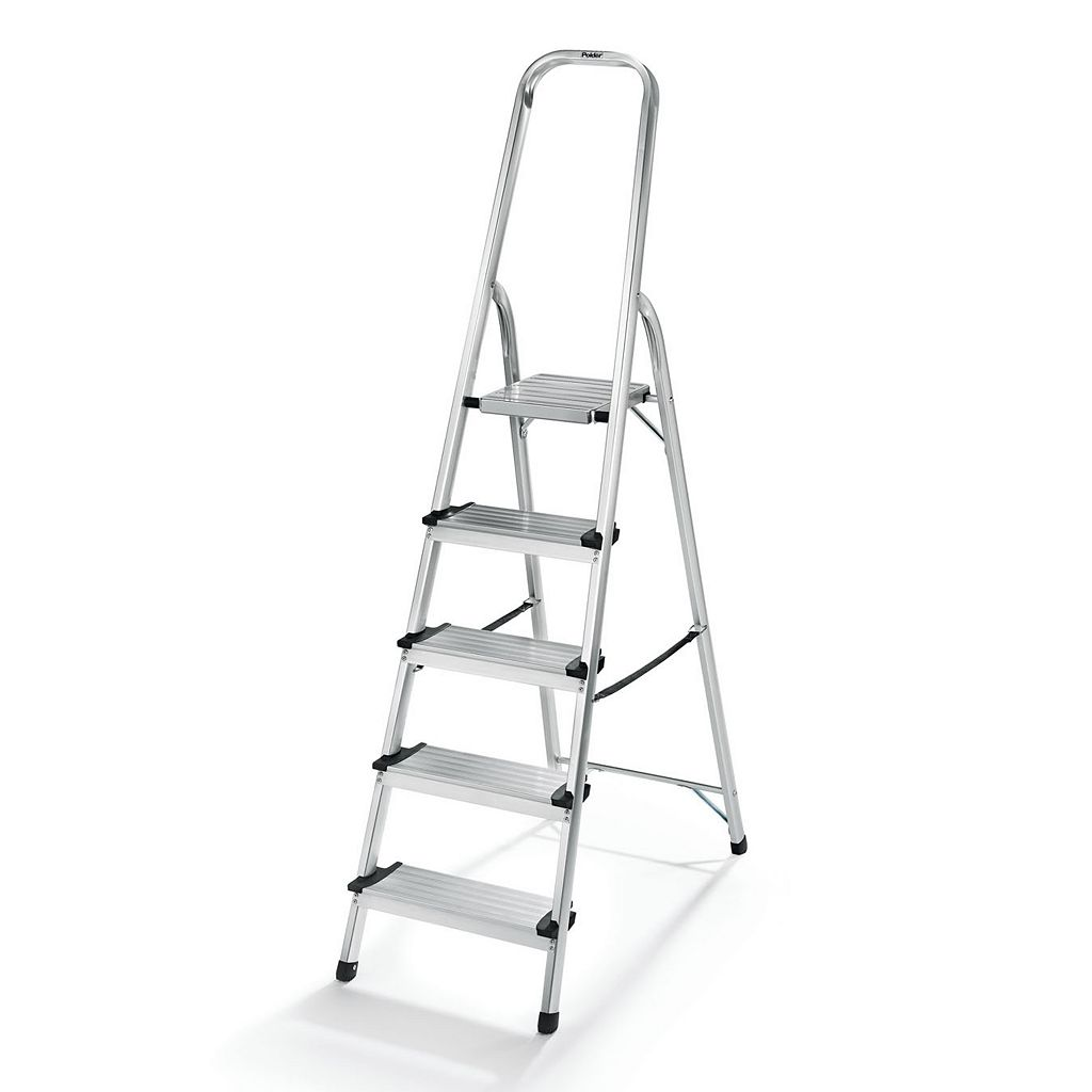 Polder 5-Step Lightweight Aluminum Ladder