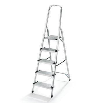 Polder 5-Step Lightweight Aluminum Ladder