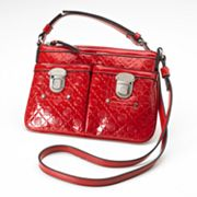 Dana Buchman Maria Metallic Cross-Body Bag