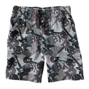 Jumping Beans Skull Canvas Shorts - Toddler