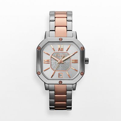 Relic Auburn Stainless Steel Two Tone Watch - ZR34172 - Women