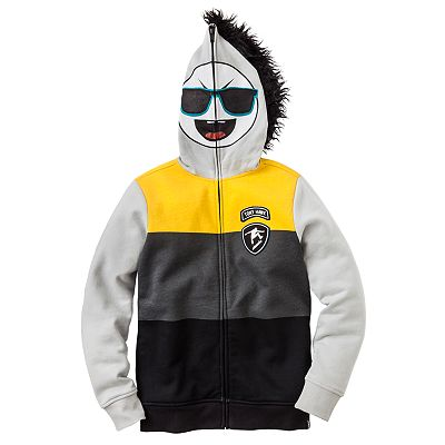Tony Hawk Moto X Man Costume Fleece Hoodie - Boys 8-20