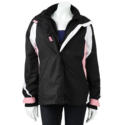R and O Hooded Colorblock Systems Jacket - Women's Plus