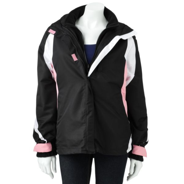 RO Hooded Colorblock Systems Jacket Women,s Plus