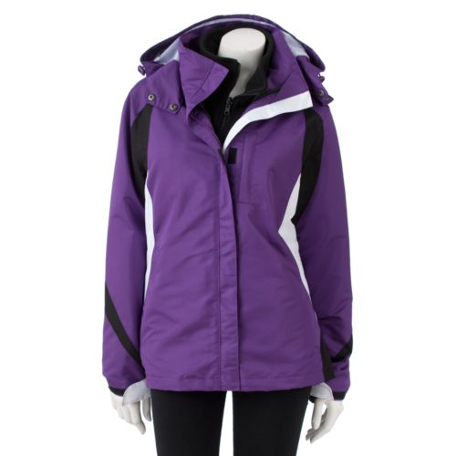 R&O Hooded Colorblock Systems Jacket - Women's Plus