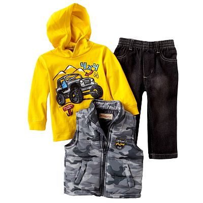 Baby Headquarters Off Road Trail Vest Set - Baby