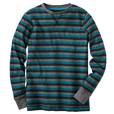 Tony Hawk Triple Striped Snit Shirt - Boys 8-20