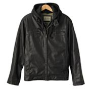 SONOMA life + style Textured Hooded Jacket - Men