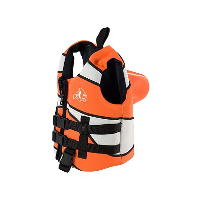 SwimWays Sea Squirts Clown Fish Life Jacket - Small