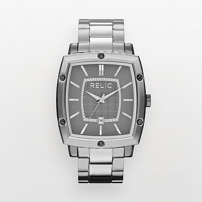 Relic Stainless Steel Watch - ZR77245 - Men