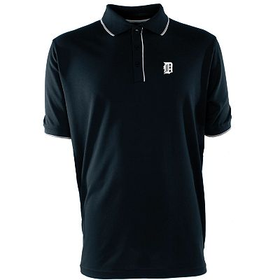 Detroit Tigers Elite Desert Dry Xtra-Lite Pique Polo