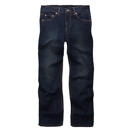 Boys 8-20 Levi's® 550™ Relaxed Straight-Leg Jeans In Regular & Husky