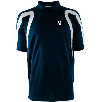 New York Yankees Point Desert Dry Xtra-Lite Pique Polo
