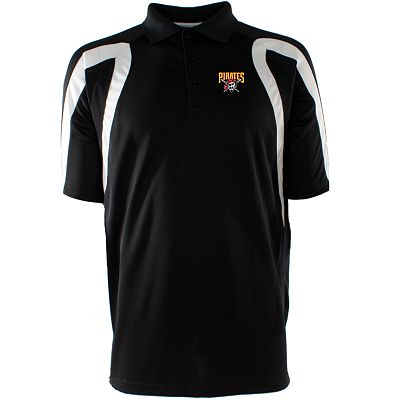 Pittsburgh Pirates Point Desert Dry Xtra-Lite Pique Polo
