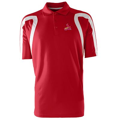 St. Louis Cardinals Point Desert Dry Xtra-Lite Pique Polo
