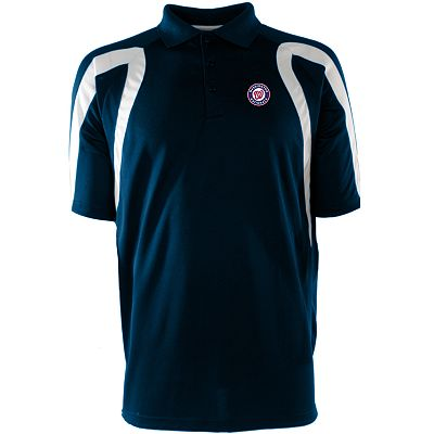 Washington Nationals Point Desert Dry Xtra-Lite Pique Polo