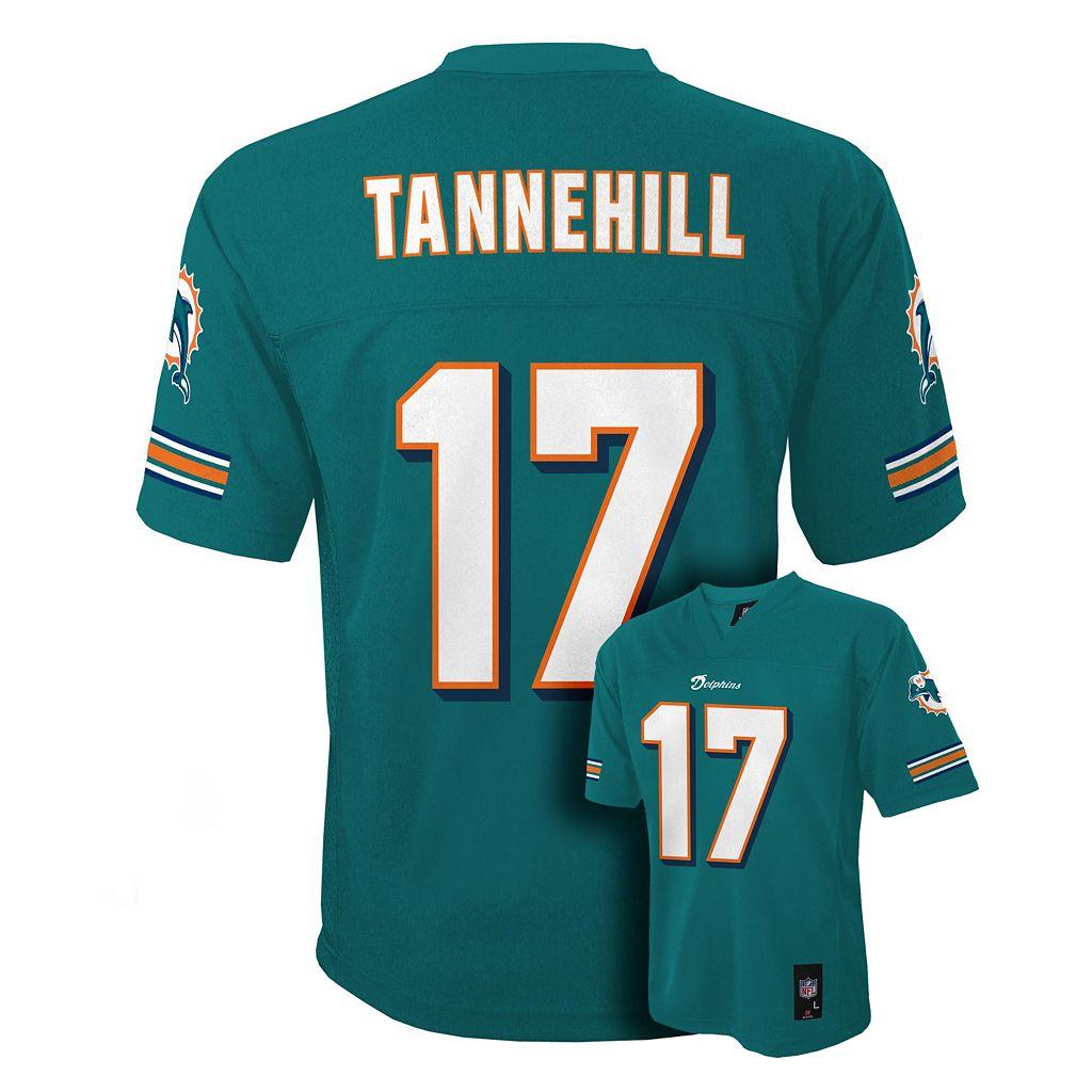 Boys 8-20 Miami Dolphins Ryan Tannehill NFL Replica Jersey