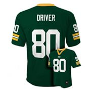 Green Bay Packers Donald Driver NFL Jersey - Boys 8-20