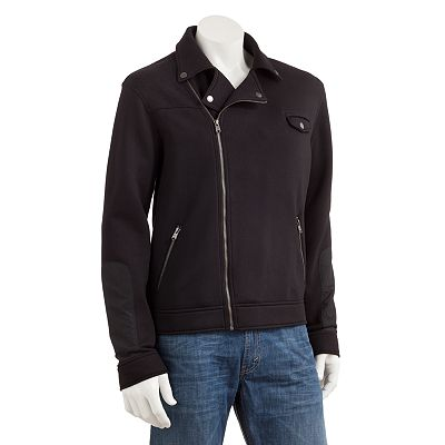 Marc Anthony Knit Motorcycle Jacket