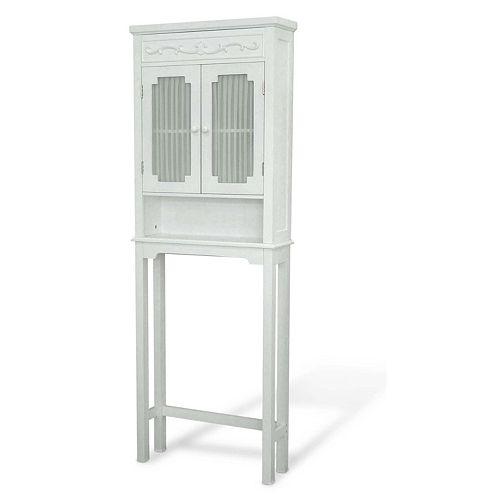 Elegant Home Fashions Lisbon Space Saver Cabinet